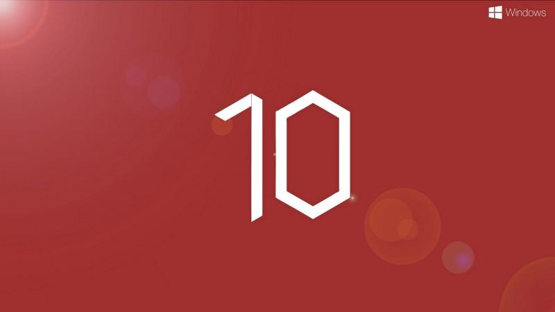 name windows 10 red preview wallpaper description download windows 10 800x450