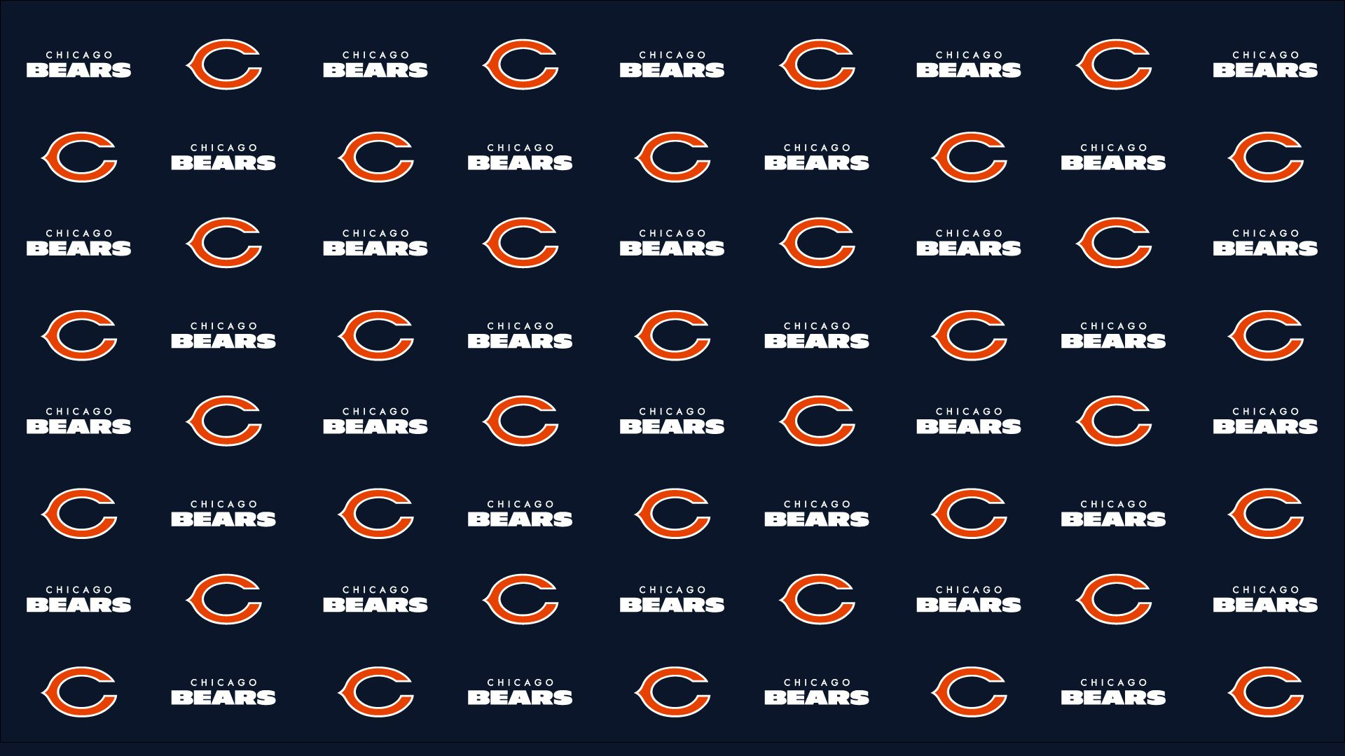 Video Conference Backgrounds Chicago Bears Official Website 1920x1080
