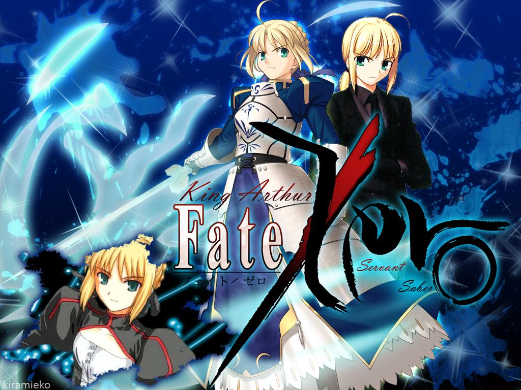 De Saber do anime FateStay Night e FateZero 1024x768