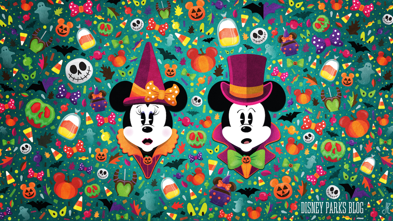 Celebrate a WonderFALLDisney With Our Halloween Wallpaper 1280x720