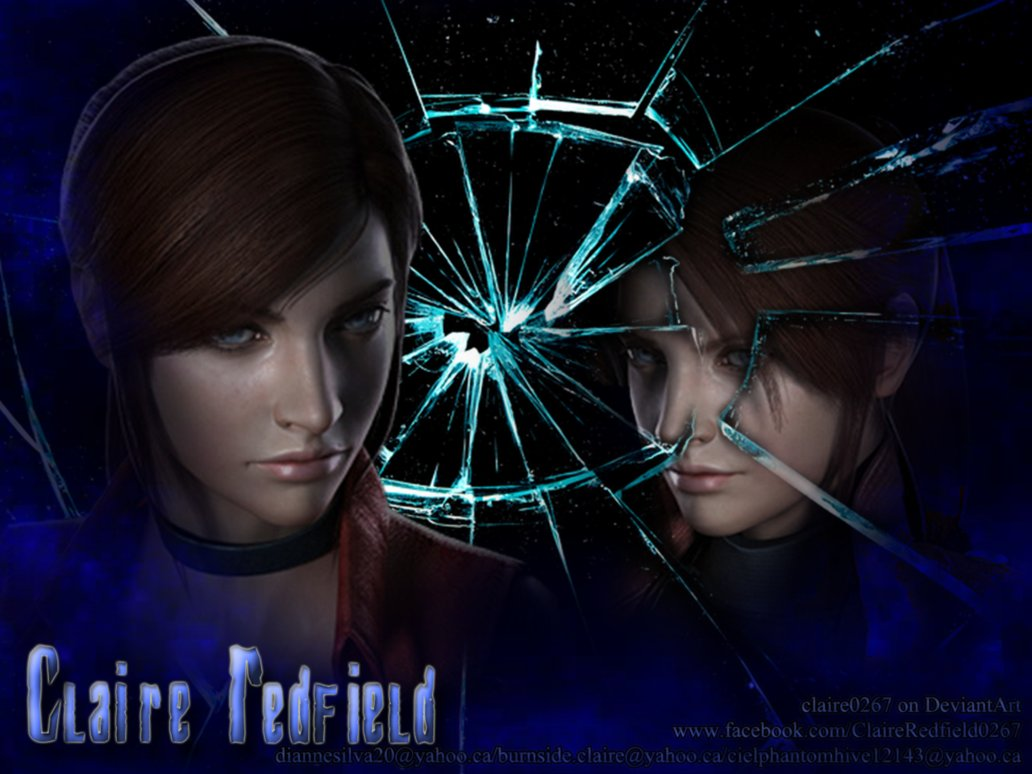Claire Redfield Wallpaper by Claire0267 1032x774