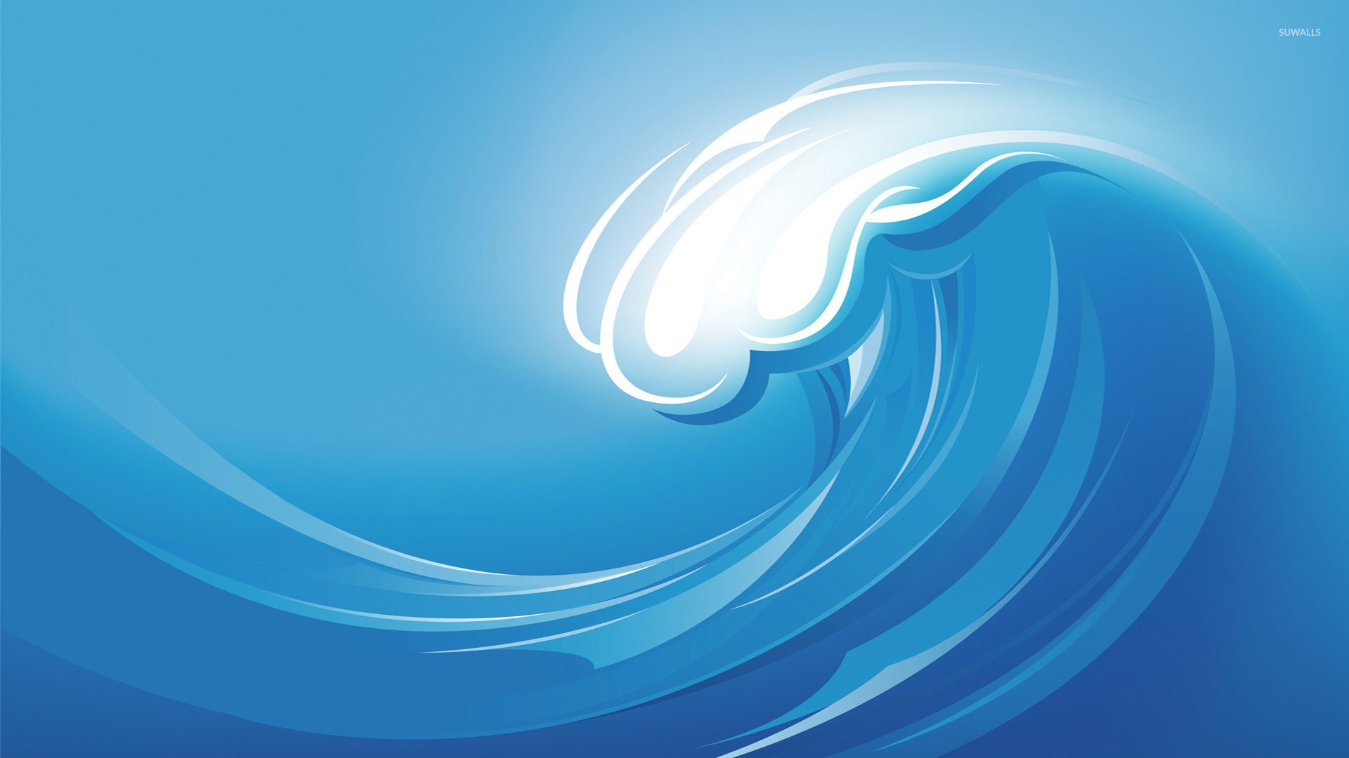 Cartoon Water Waves Wave wallpaper 1920x1080 jpg 1920x1080