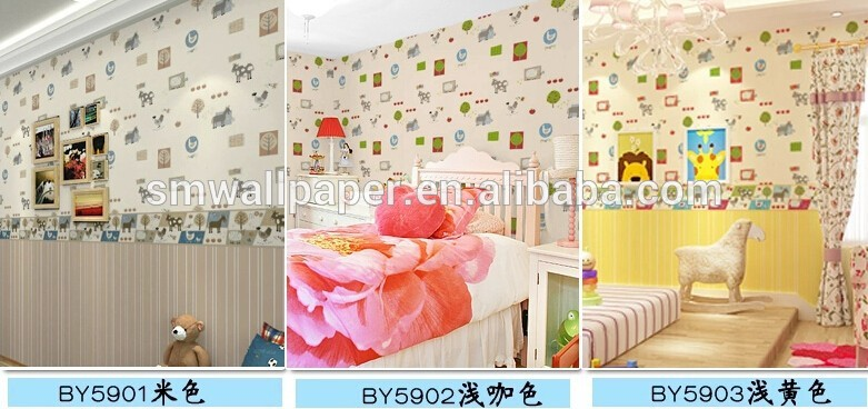 hot sale glitter fabric wallpaper animal photo wallpaper for kids 781x368