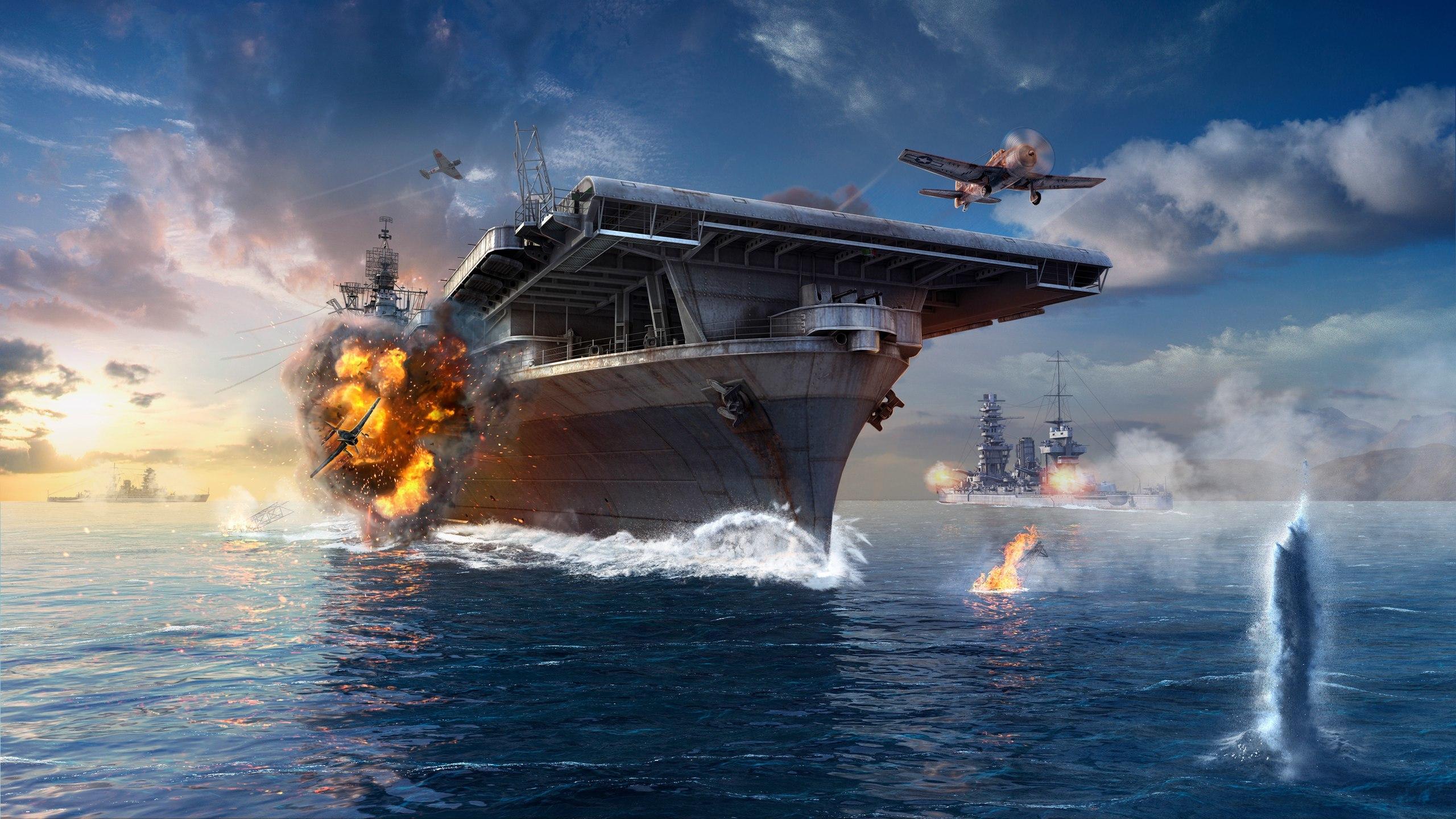 Обои для рабочего стола из игры world of warships