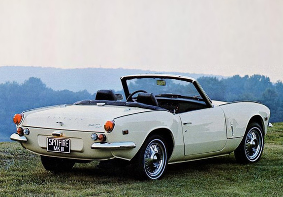 Triumph Spitfire MkIII 196770 wallpapers 575x400