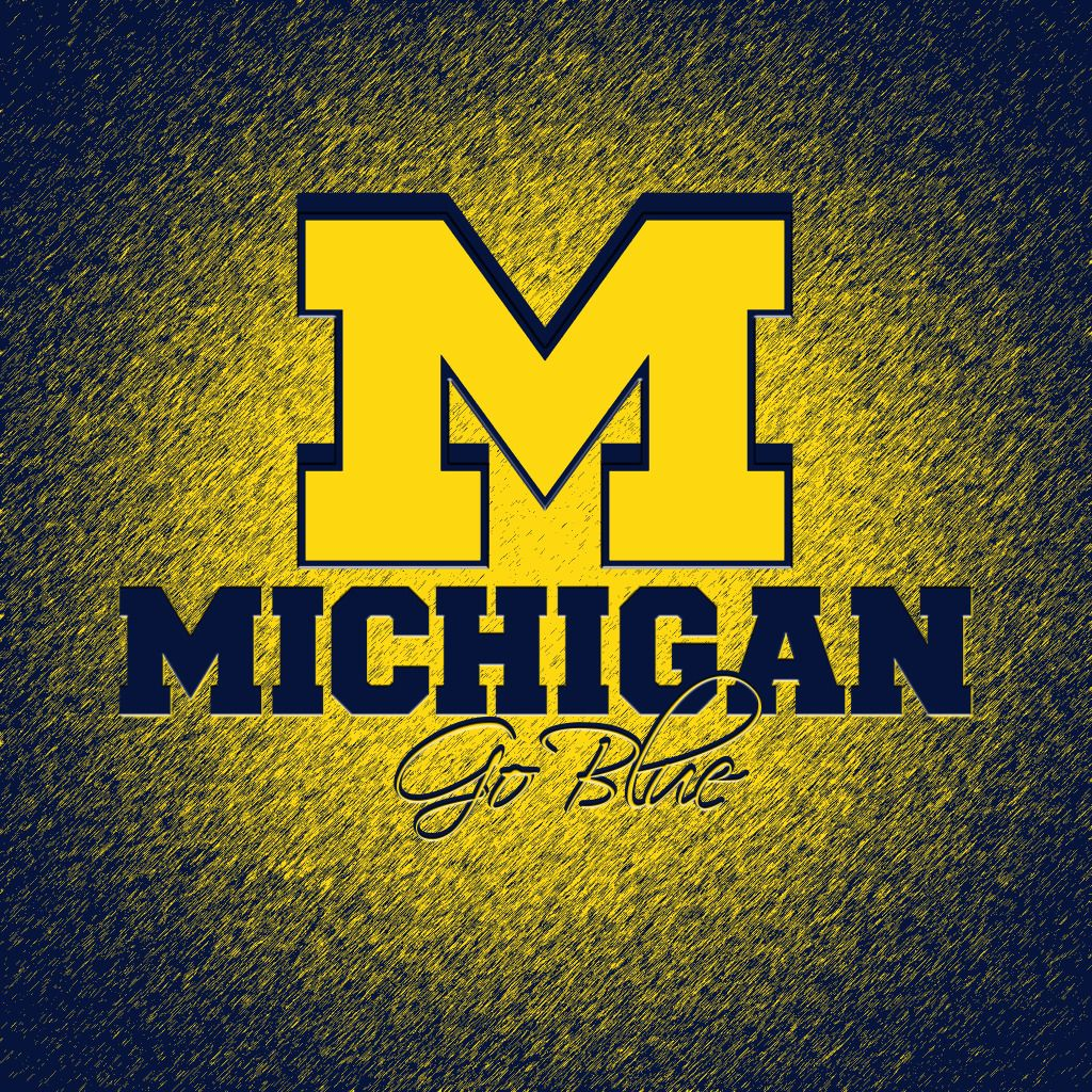 University of Michigan Football Wallpaper SuperSweet Football 1024x1024