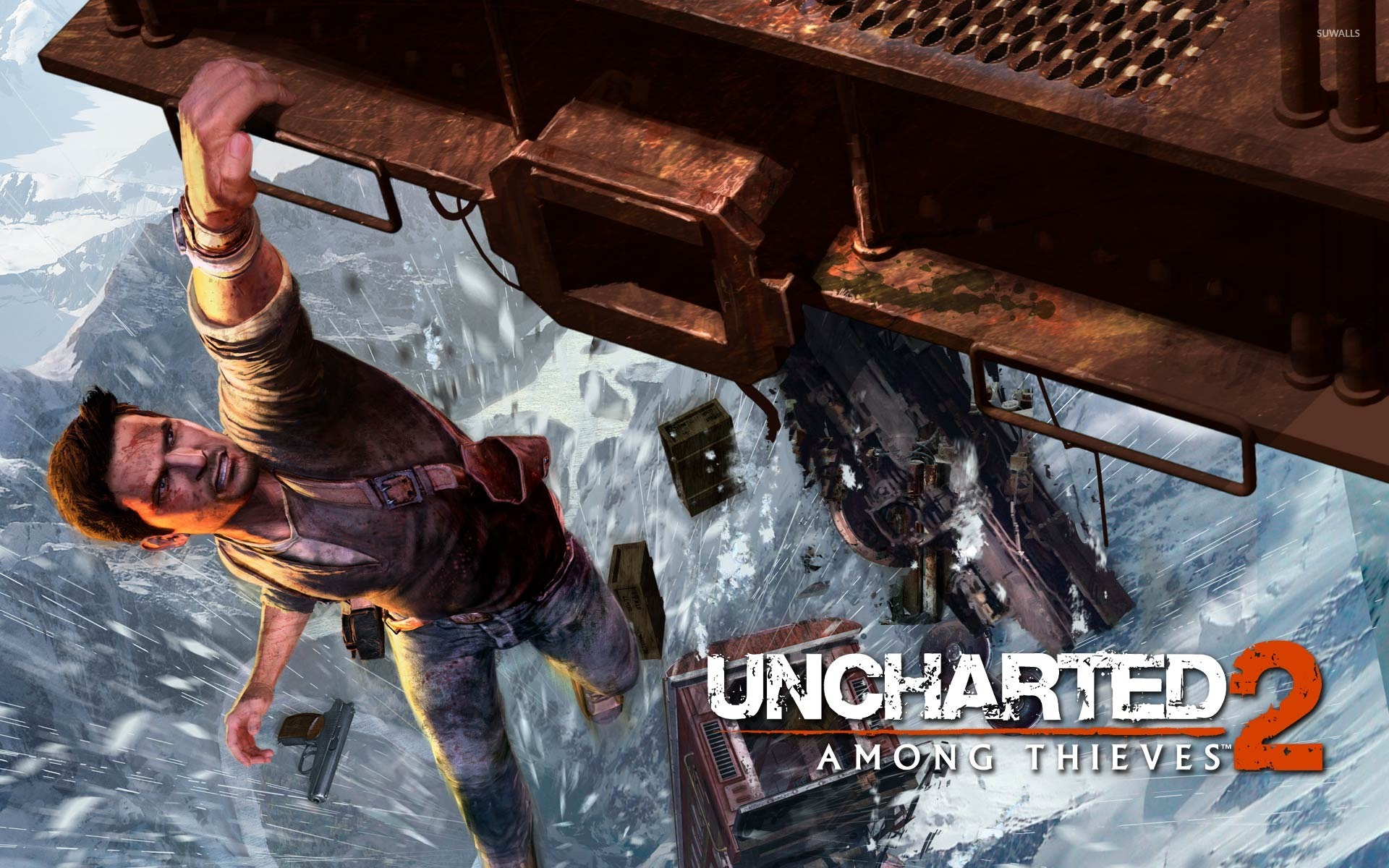 Uncharted 2 Among Thieves wallpaper   Game wallpapers   187 1366x768