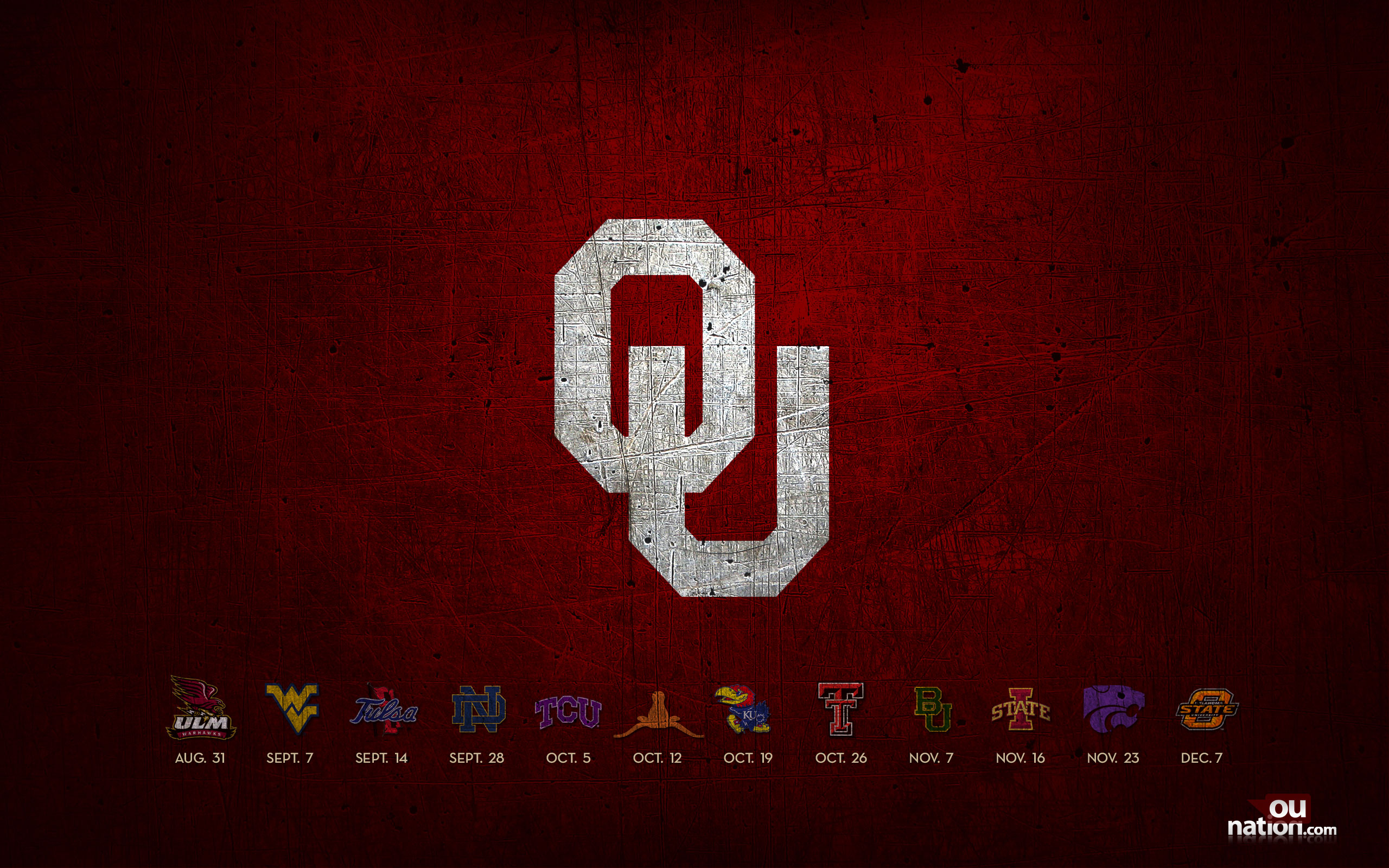Ou Sooners Football Schedule 2016 Calendar Template 2016 2560x1600