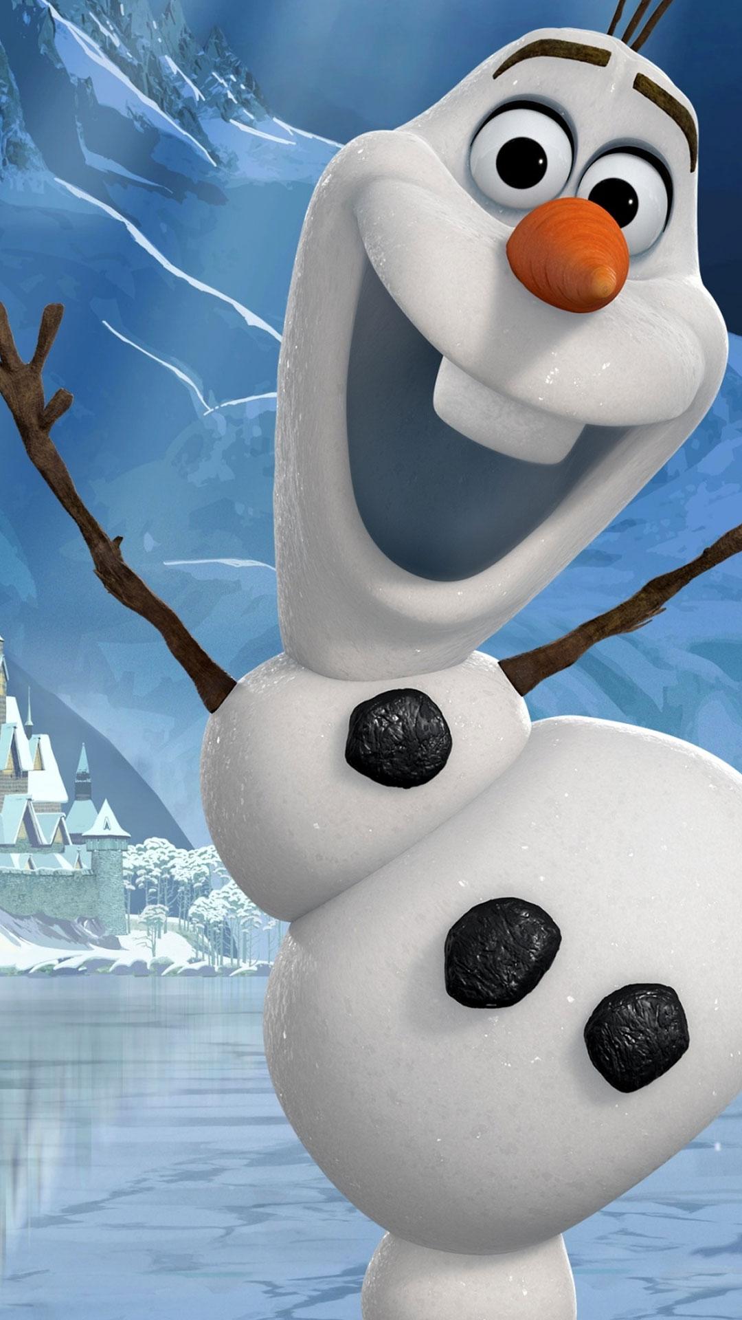 Pics Photos   Cute Olaf Frozen Hd Wallpaper 1080x1920
