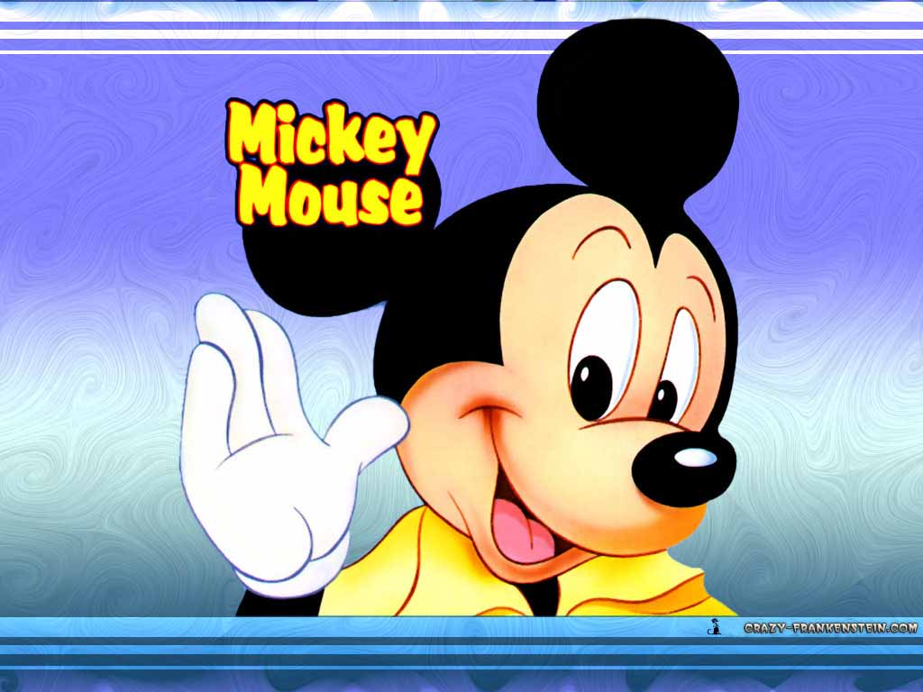 Funny Picture Clip Mickey Mouse Desktop Wallpapers Mickey Mouse 1024x768