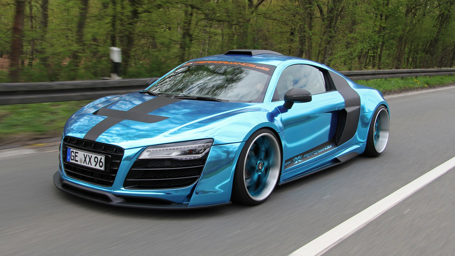 2013 Audi R8 V10 by XXX Performance Wallpaper HD Car Wallpapers 1920x1080