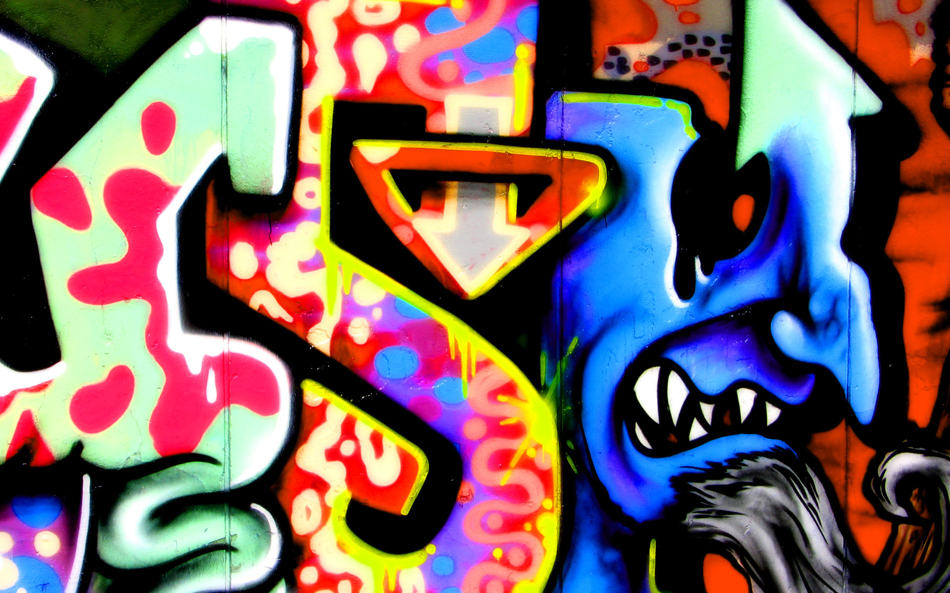 77 ] Graffiti Backgrounds On WallpaperSafari