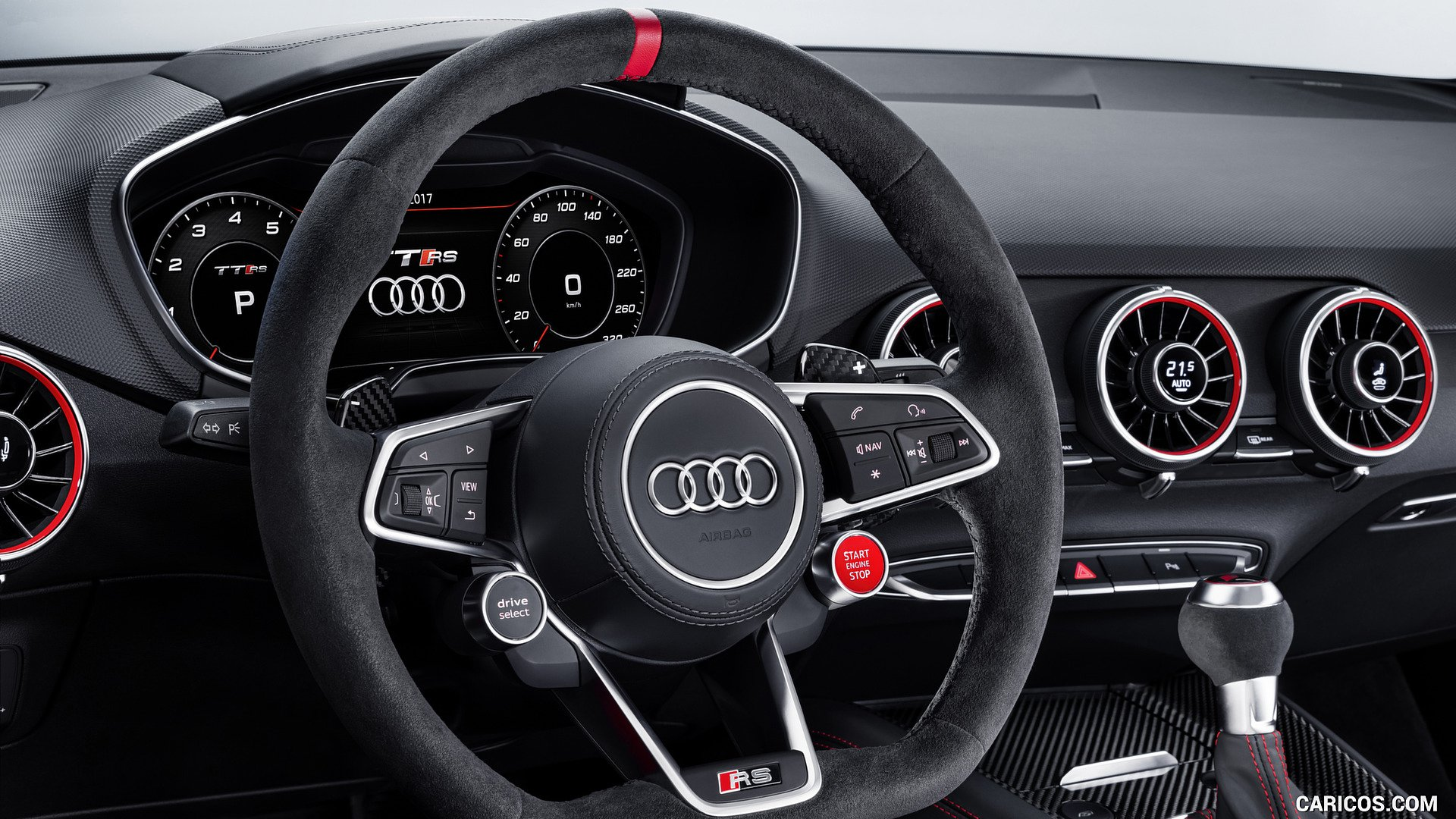 2018 Audi TT RS Performance Parts   Interior HD Wallpaper 16 1920x1080