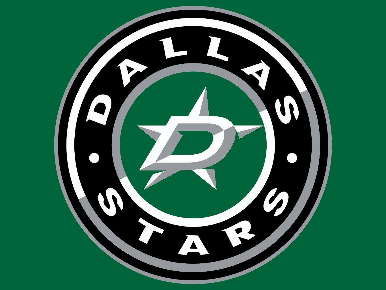 Dallas Star Logo Nhl Neon 1365x1024