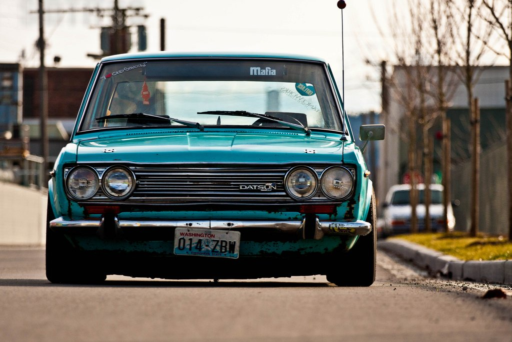 Datsun 510 Iphone Wallpaper   image 301 1024x683