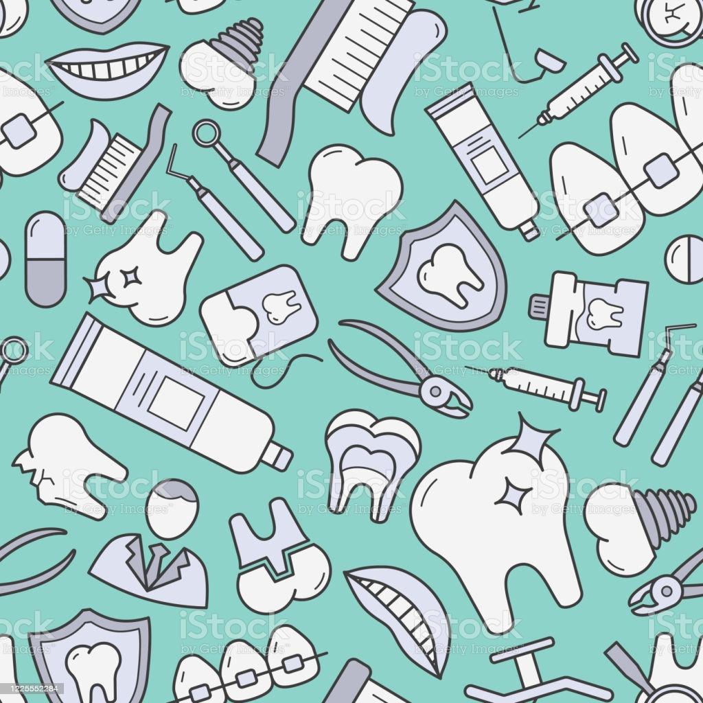 Dentist Background 0101 Stock Illustration   Download Image Now 1024x1024