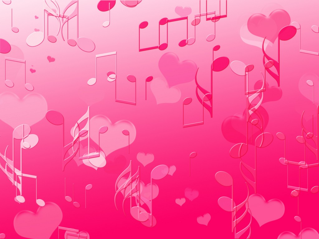 Musical Notes Wallpaper   Cute Wallpapers 1024x768