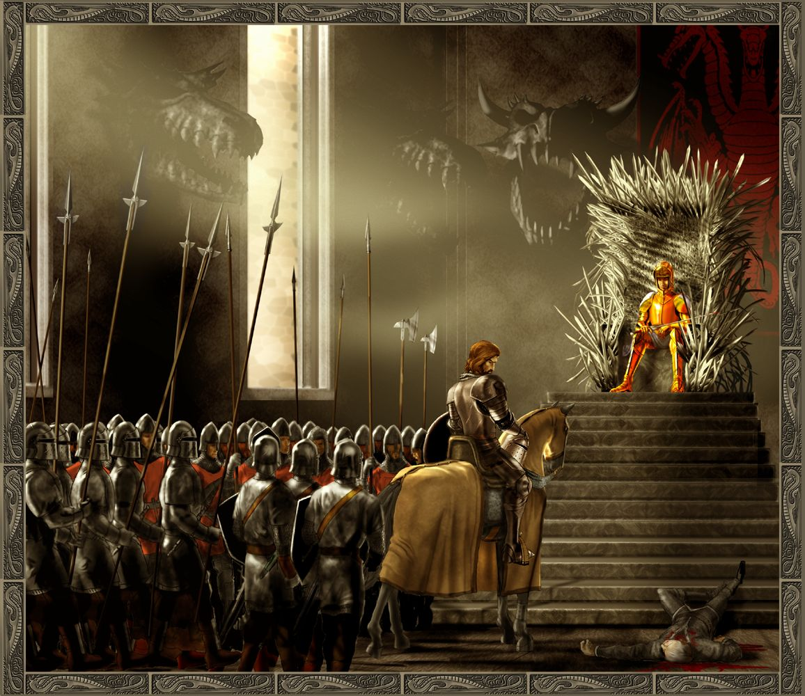 Fantasy   Knight A Song Of Ice And Fire Wallpaper 1156x1000