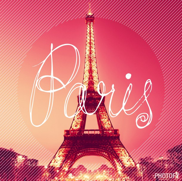 Free Download Pink France Paris Eiffel Tower The Heart Wallpaper