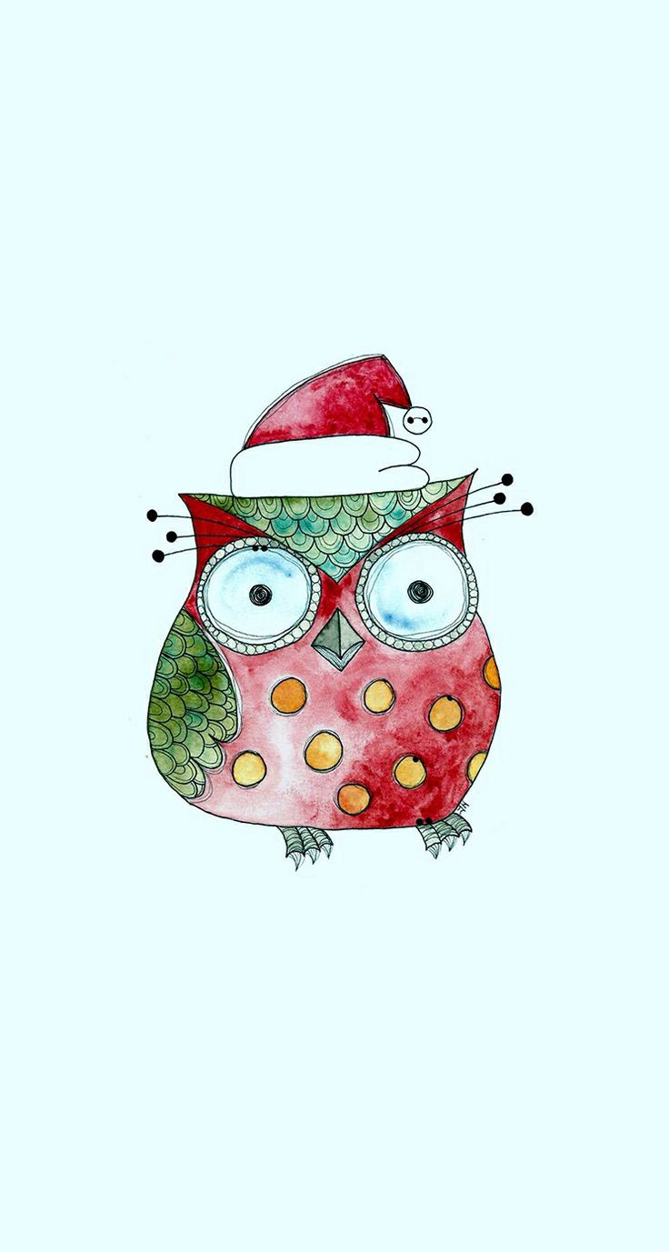 Christmas Tree Owls