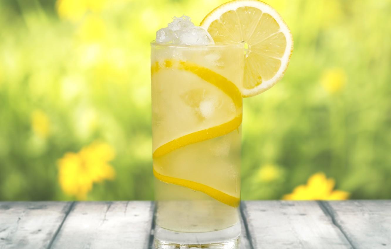 Wallpaper ice glass lemon Board drink blur lemonade images 1332x850