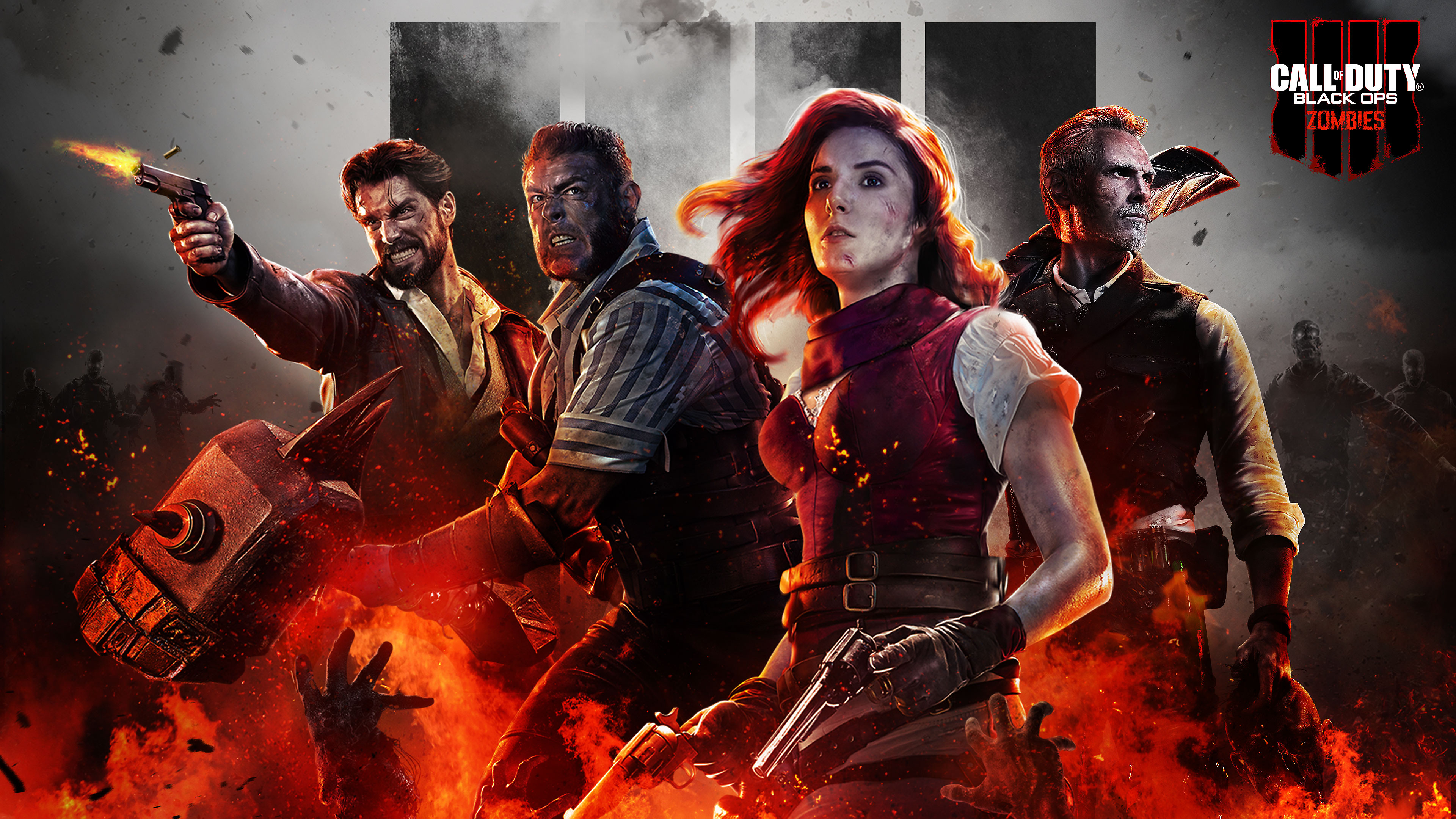 33 Call Of Duty Black Ops 4 Zombies Wallpapers On Wallpapersafari