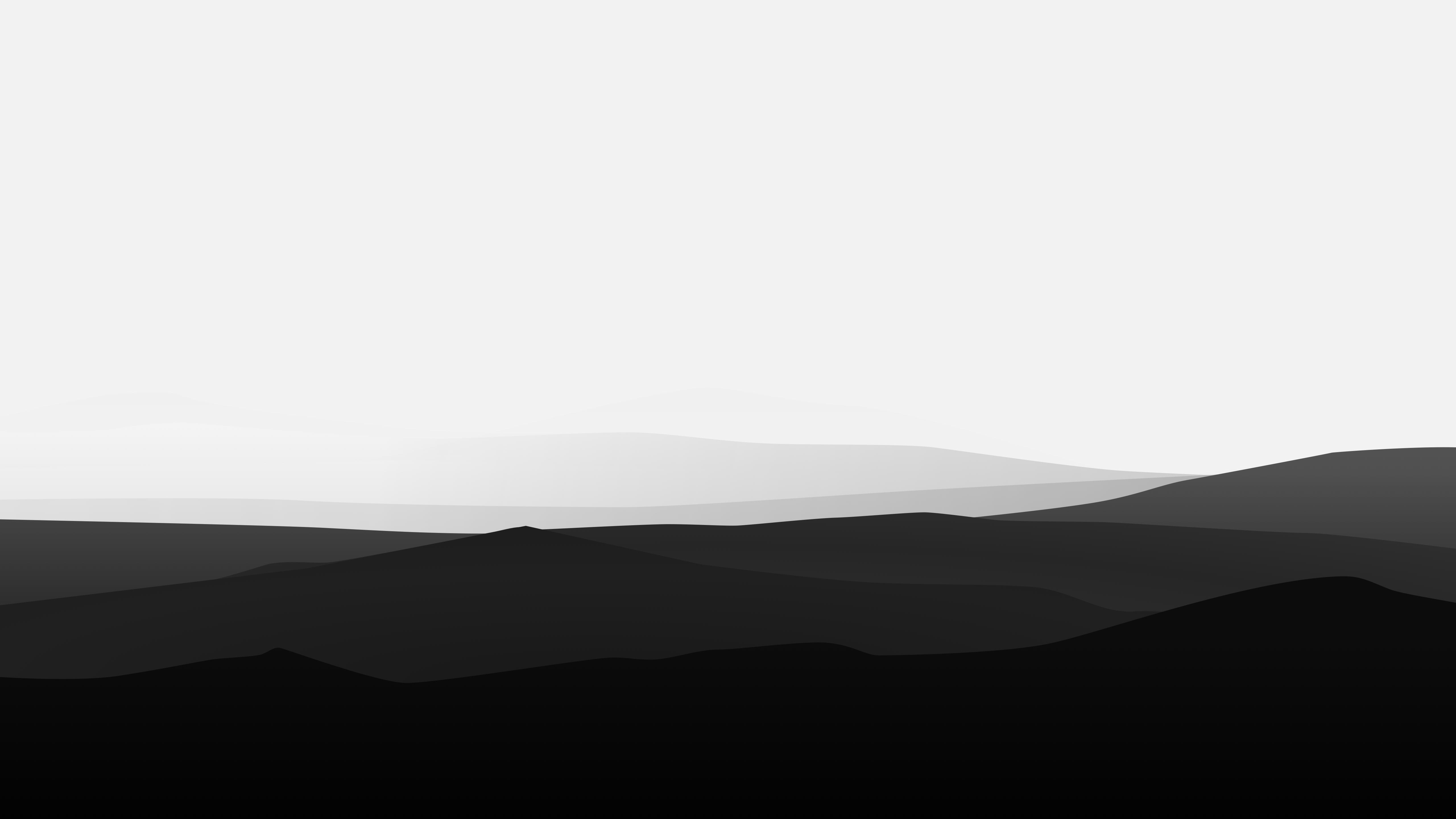 Black And White Minimalist   5120x2880   Download HD Wallpaper 5120x2880