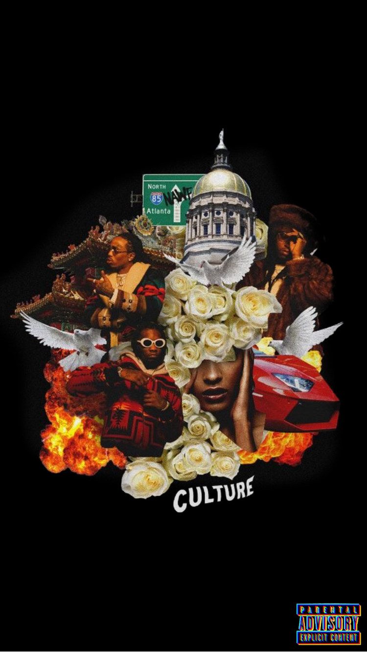 Migos culture wallpaper iphone Migos wallpaper Iphone wallpaper 750x1334