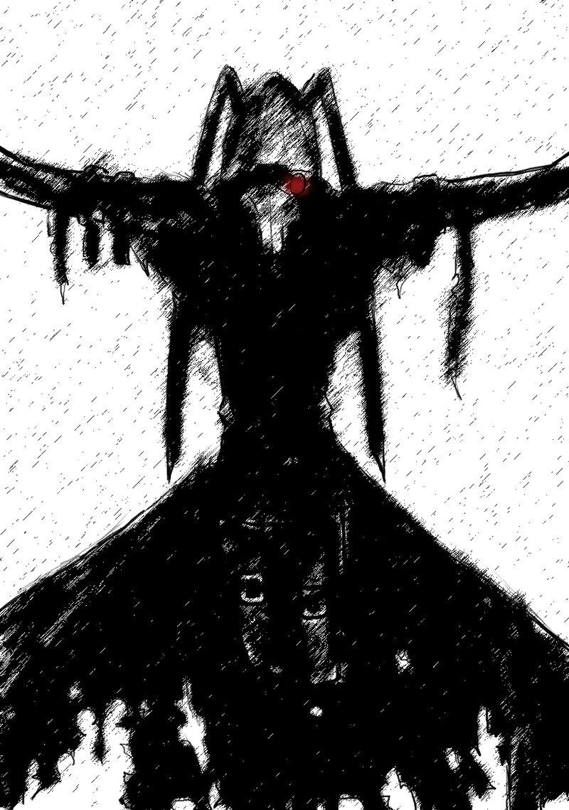 Black Plague doctor by sanelyInane 800x1138