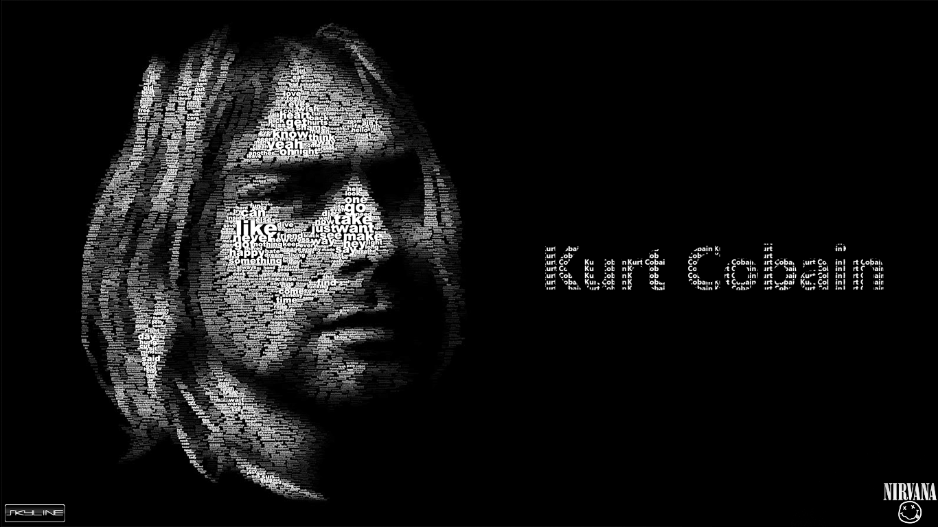 Nirvana wallpaper wallpapersafari - Kurt cobain nirvana wallpaper ...