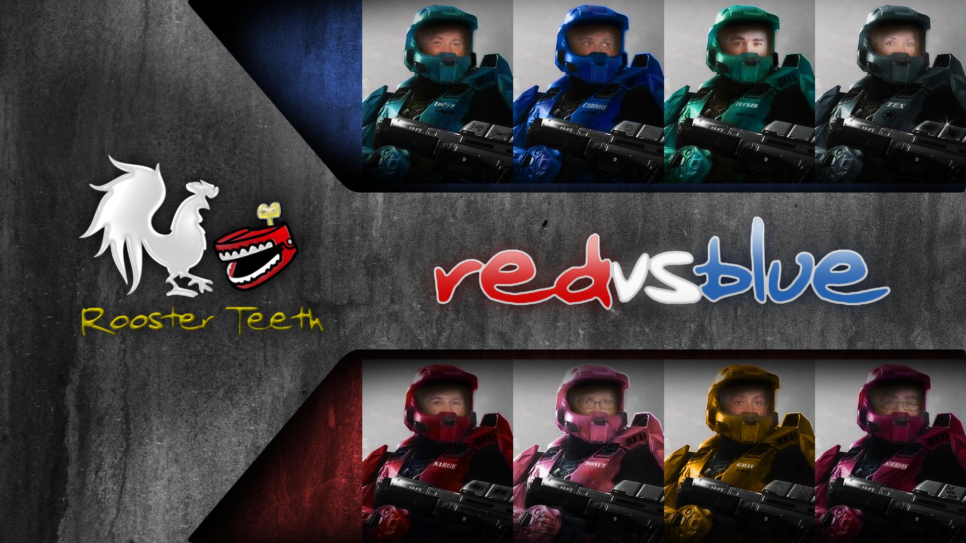Red Vs Blue Wallpapers - Wallpaper Cave