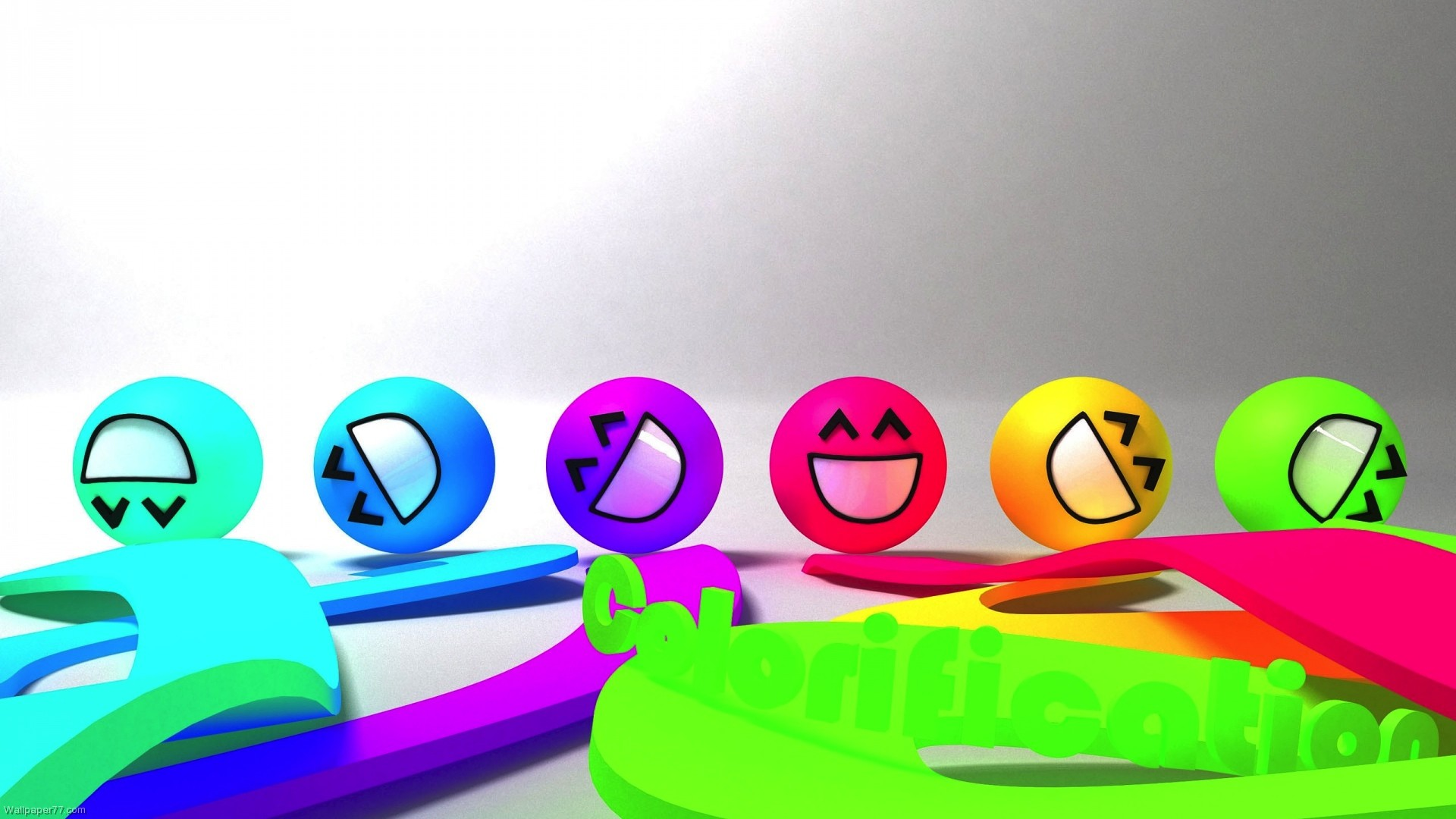 wallpapers cute smiley faces colorful wallpaper funny fun 1920x1080