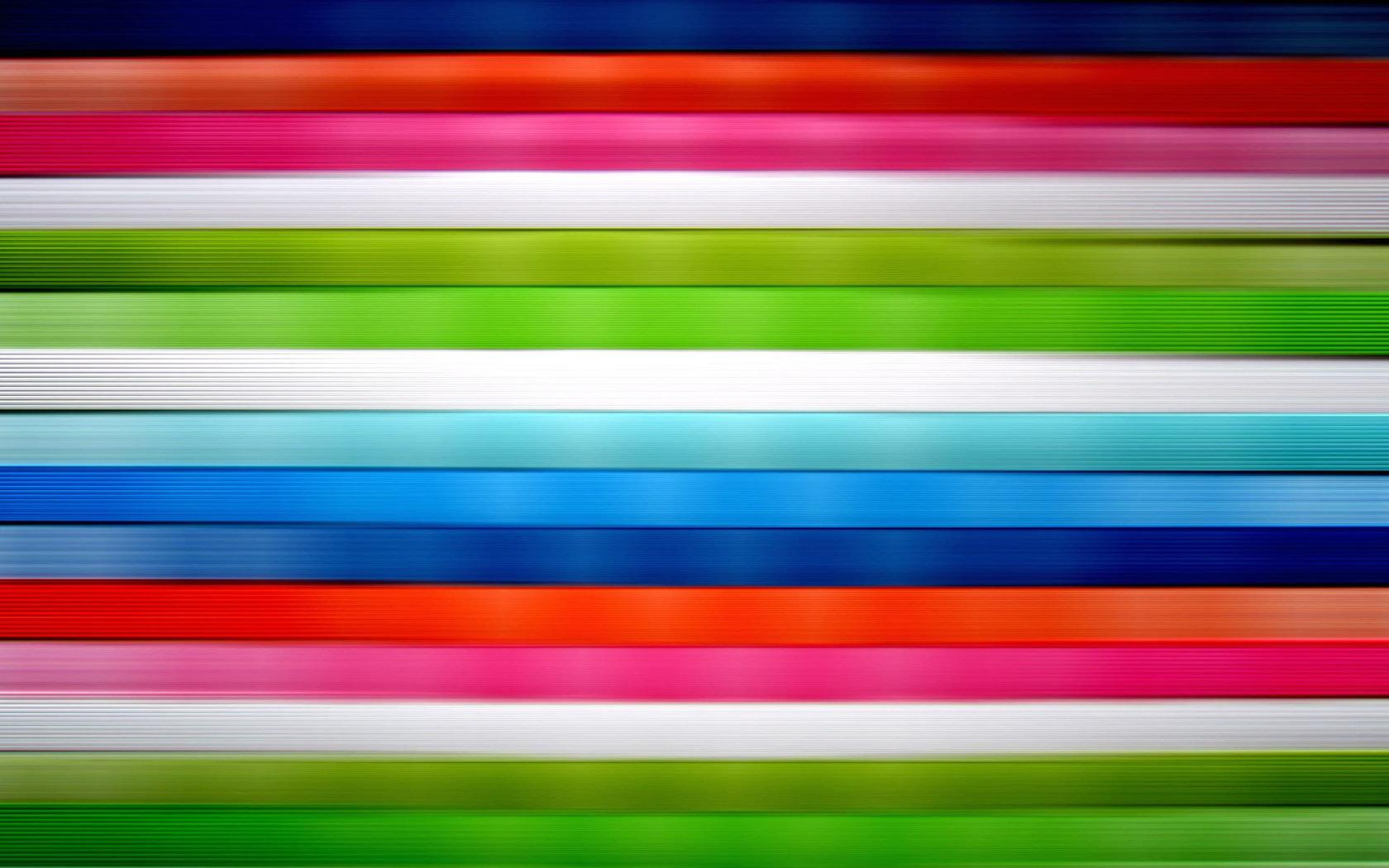 Download Horizontal vivid colored stripes wallpaper 1680x1050