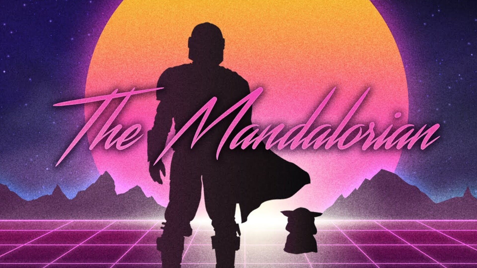 The Main Theme Song From THE MANDALORIAN Gets a Retro 80s 1920x1080