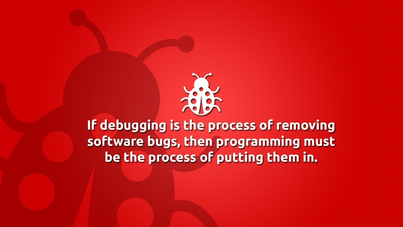 programming must be the programming must be the process of putting 1366x768