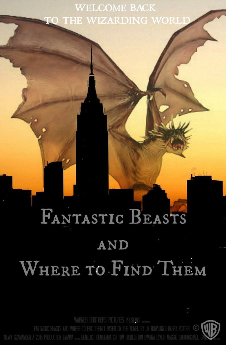 Fantastic Beasts and Where to Find Them by Potterhead Writer on 724x1104