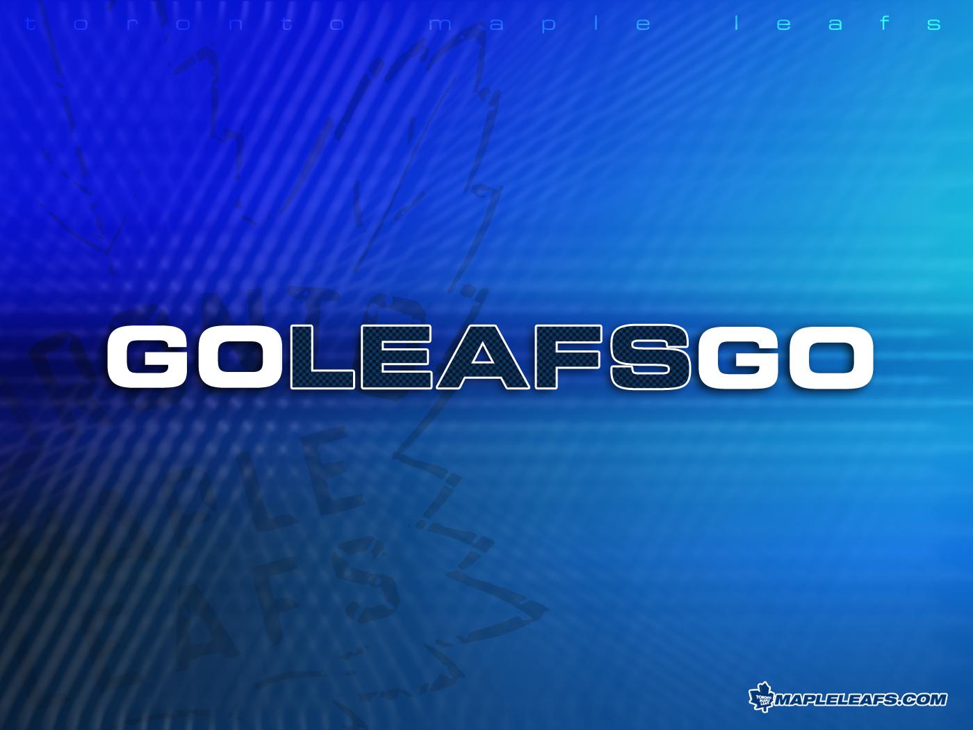 Download Toronto Maple Leafs wallpaper Go Leafs Go 1400x1050