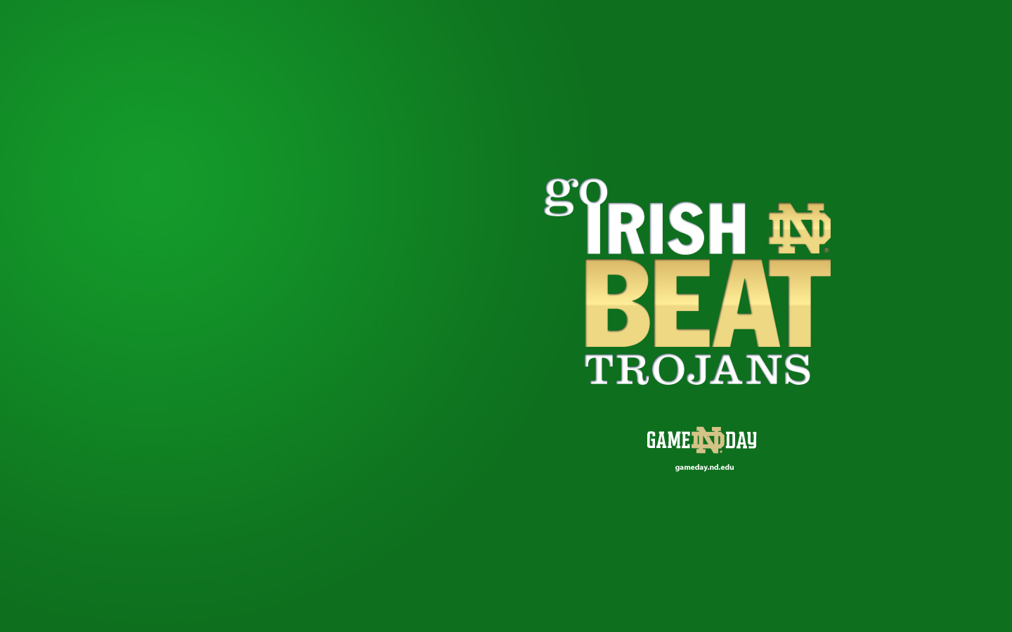 404   Page Not Found Game Day University of Notre Dame 1440x900