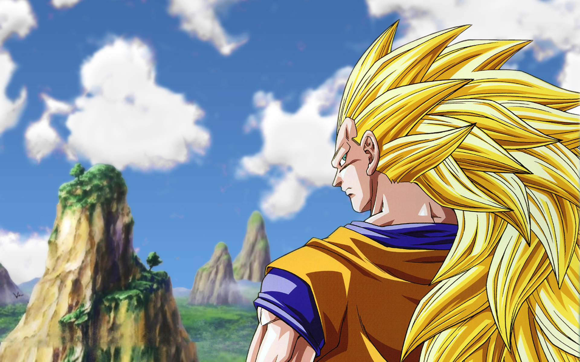 Goku   Dragon Ball Z Wallpaper 35539774 1920x1200
