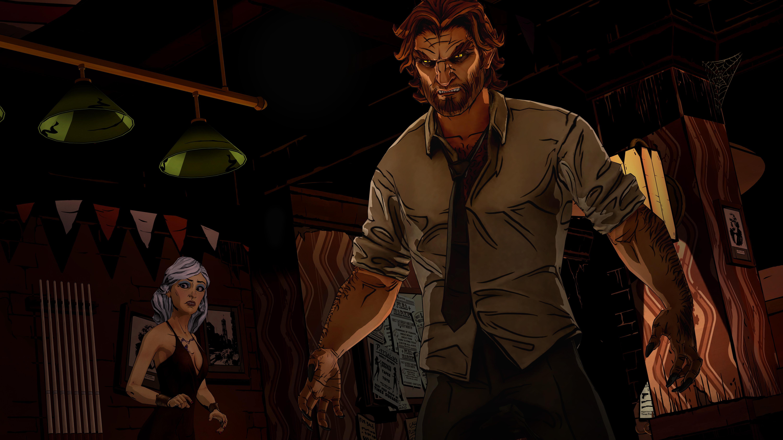 THE WOLF AMONG US game dark werewolf g wallpaper background 6000x3375