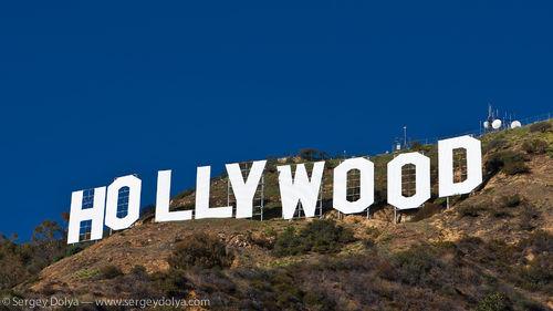 HD Hollywood Sign 500x281
