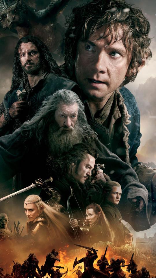 The Hobbit 3 Wallpaper   iPhone Wallpapers 540x960