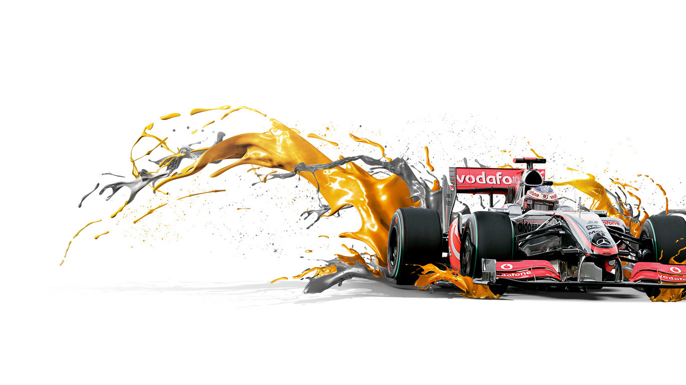 Red bull f1 car hd wallpaper