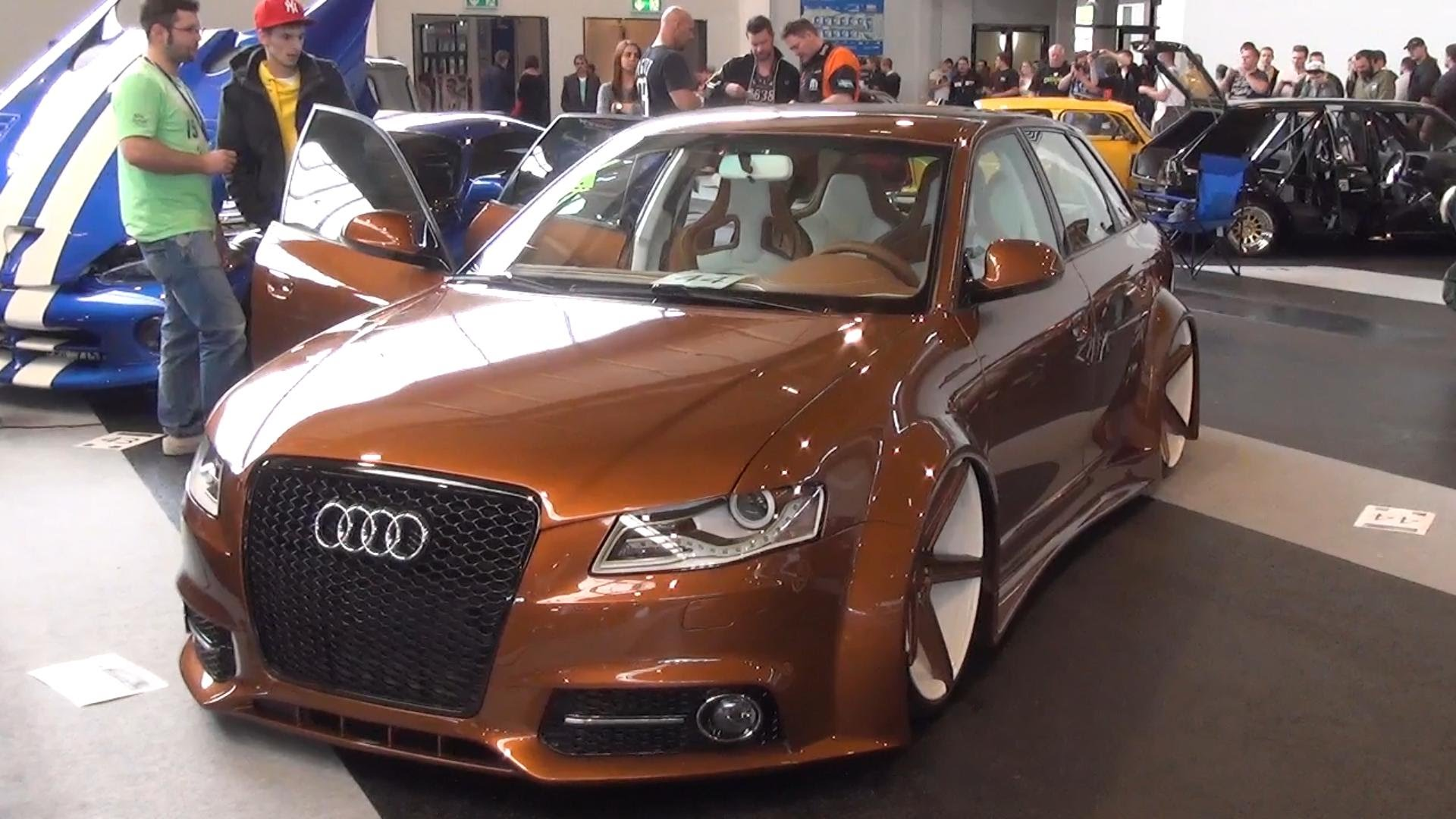 Audi A3 8L with A4 Front Single Frame 20 wheels Widebody Bodykit 1920x1080