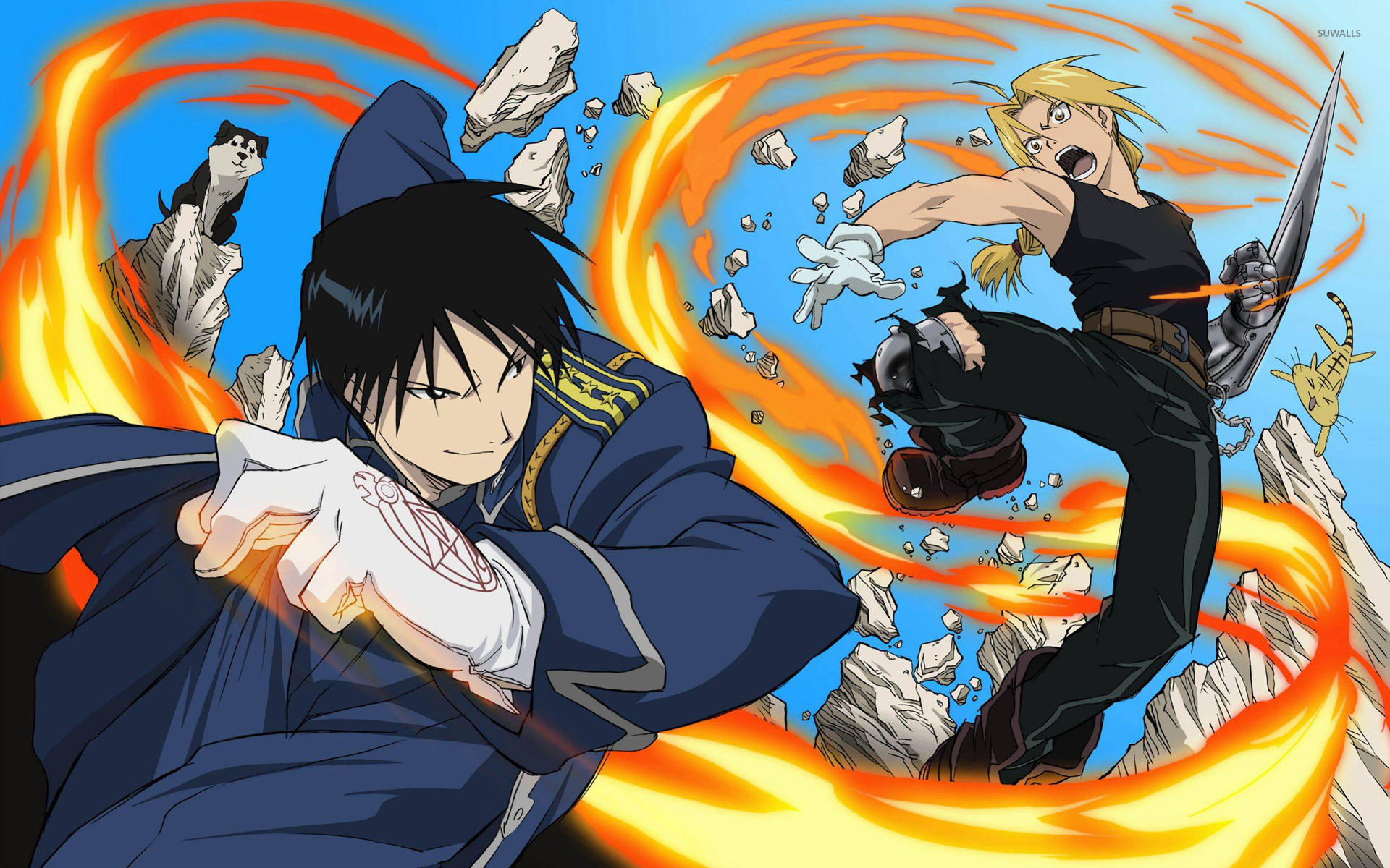 Mustang   Fullmetal Alchemist wallpaper   Anime wallpapers   16031 1366x768