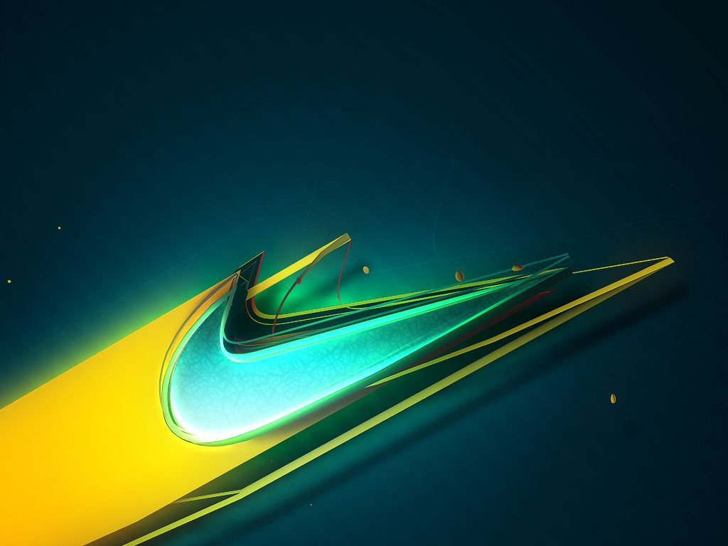Green Nike Wallpapers 1024x768