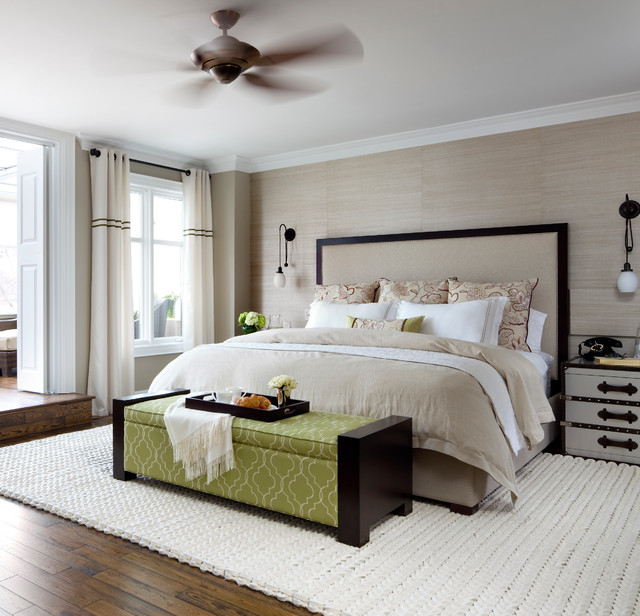 Forest Hill Master Bedroom contemporary bedroom 640x616