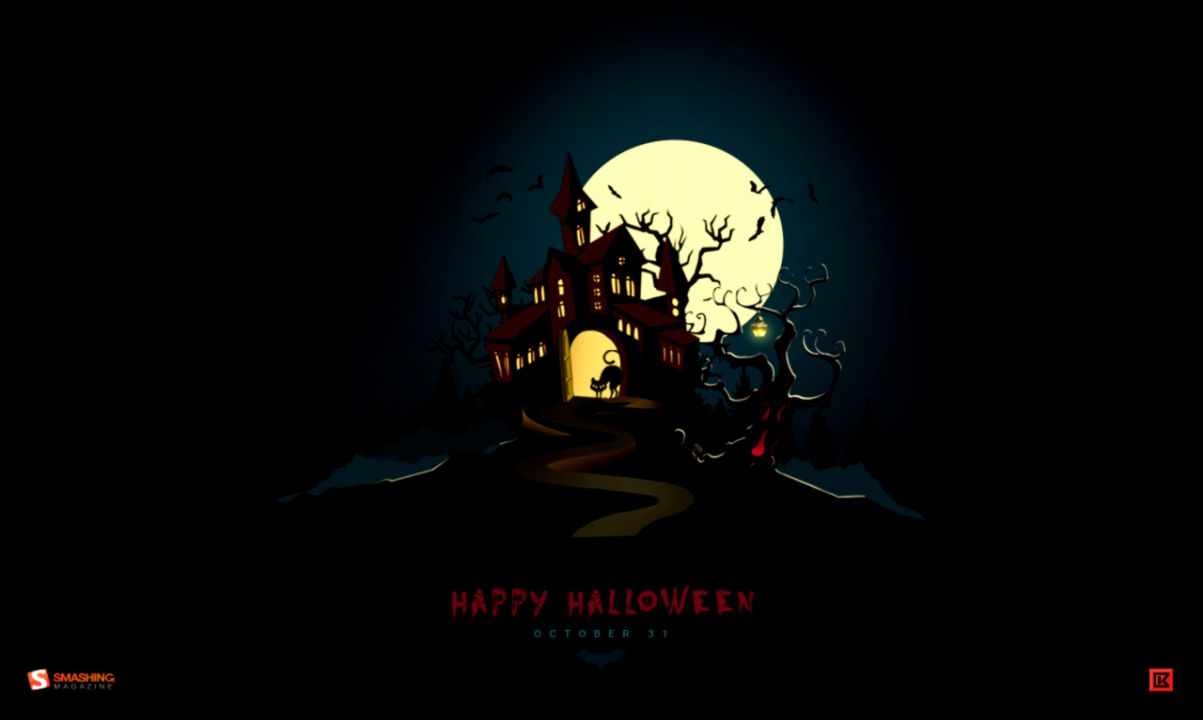 Halloween Desktop Wallpaper Wallpapers Awards 1203x720
