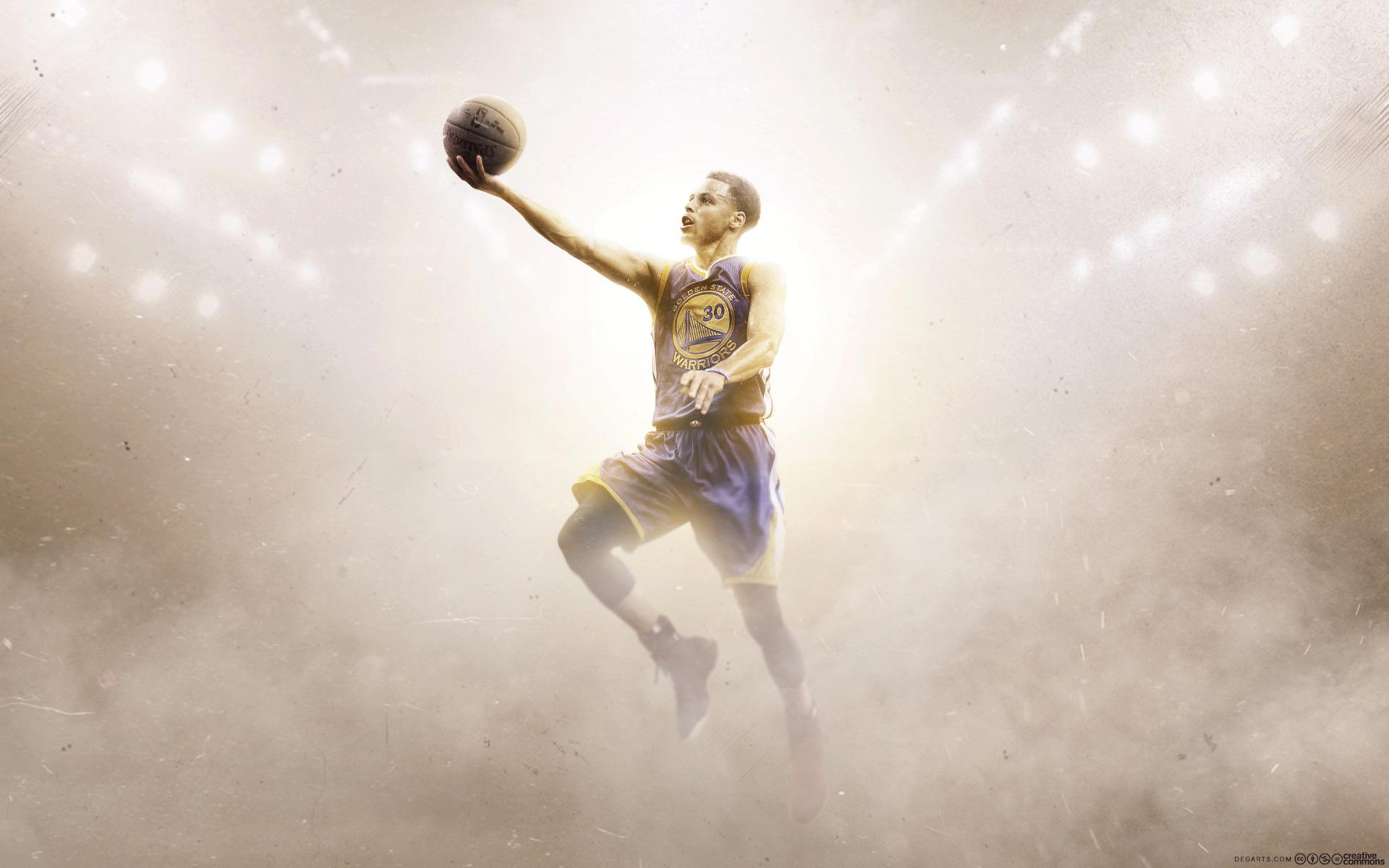 Stephen Curry Golden State Warriors Layup Wallpaper Basketball 1920x1200