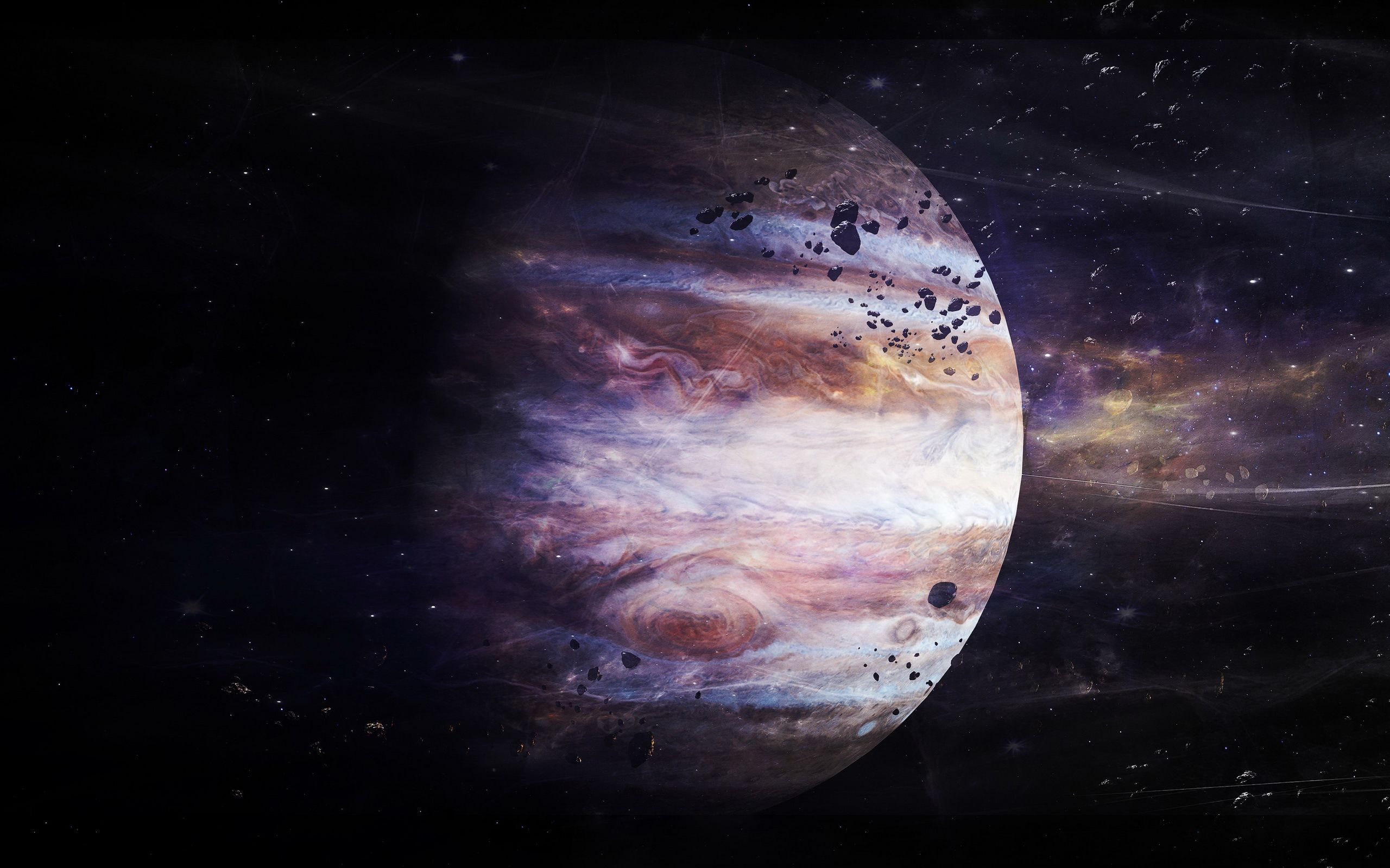 Jupiter Jupiter The giant planet wallpapers and images Cosmos 2560x1600